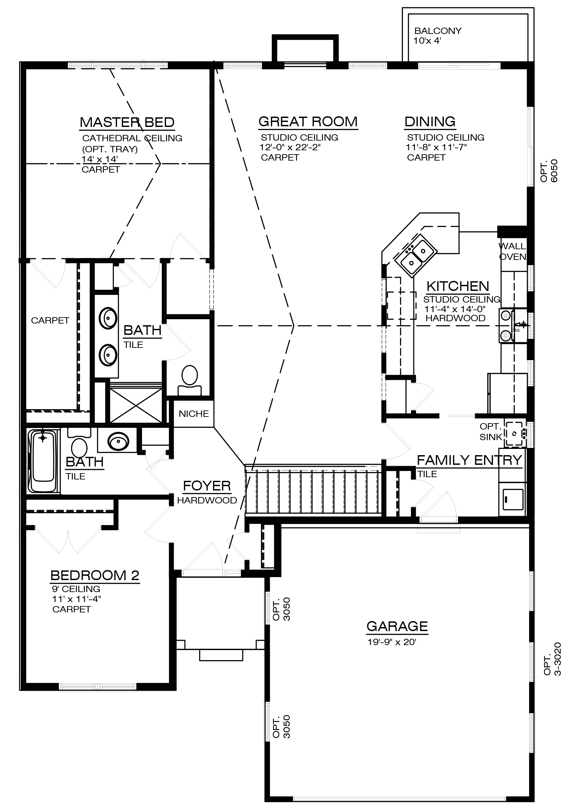 The Ancroft Floor Plan