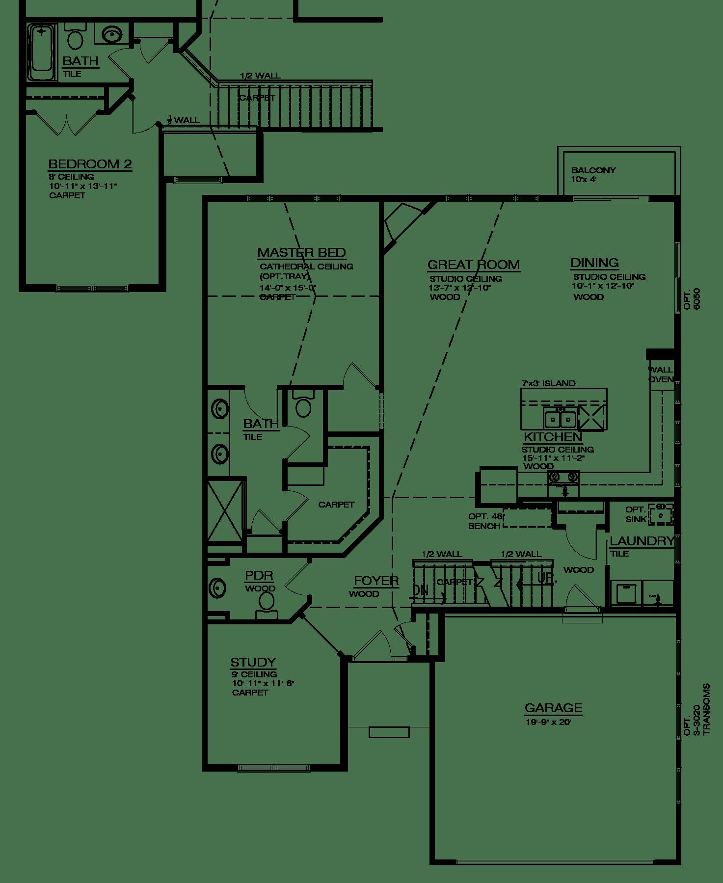 Gallery Pointe Belford Floor Plan